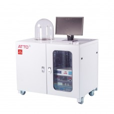 ATTO3-R High Vacuum Glass Bell Cover Thermal Evaporation Coating Machine